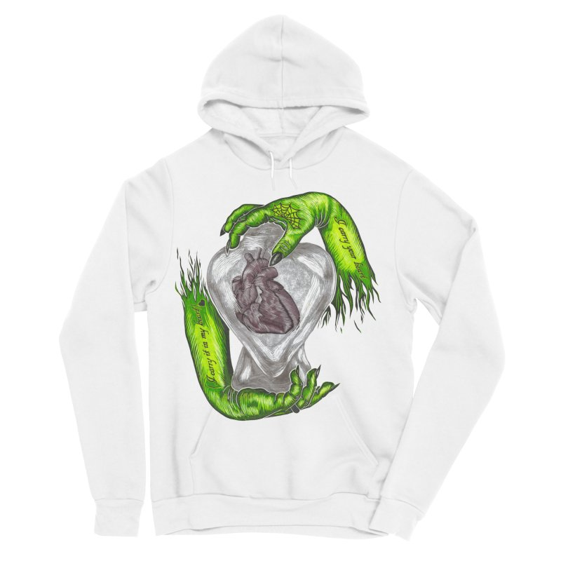 I Carry Your Heart Women's Sponge Fleece Pullover Hoody by HumAlong Productions