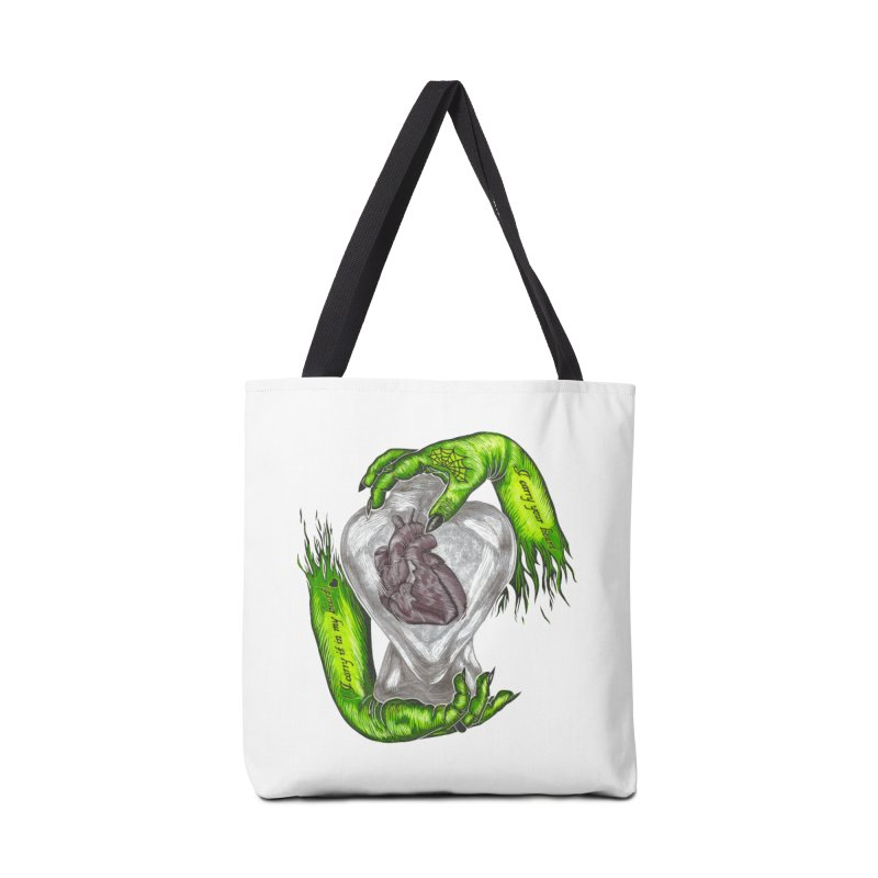 I Carry Your Heart Accessories Tote Bag Bag by HumAlong Productions