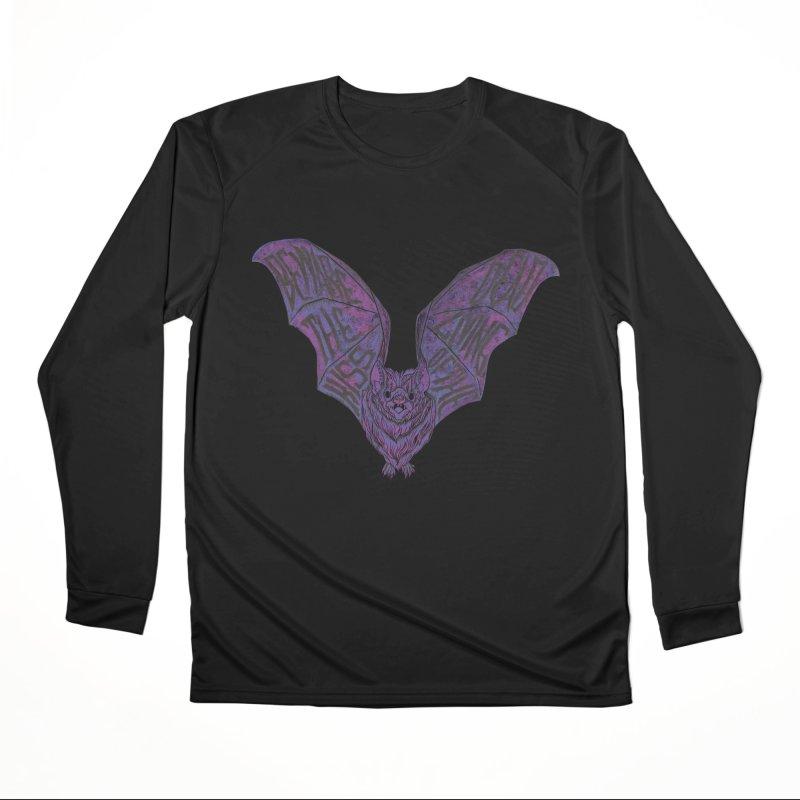 Beware the Kiss Women's Performance Unisex Longsleeve T-Shirt by HumAlong Productions