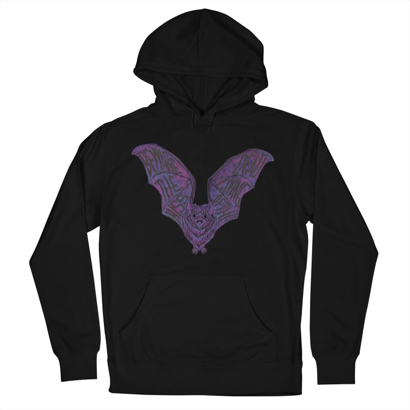 Beware the Kiss Women's French Terry Pullover Hoody by HumAlong Productions