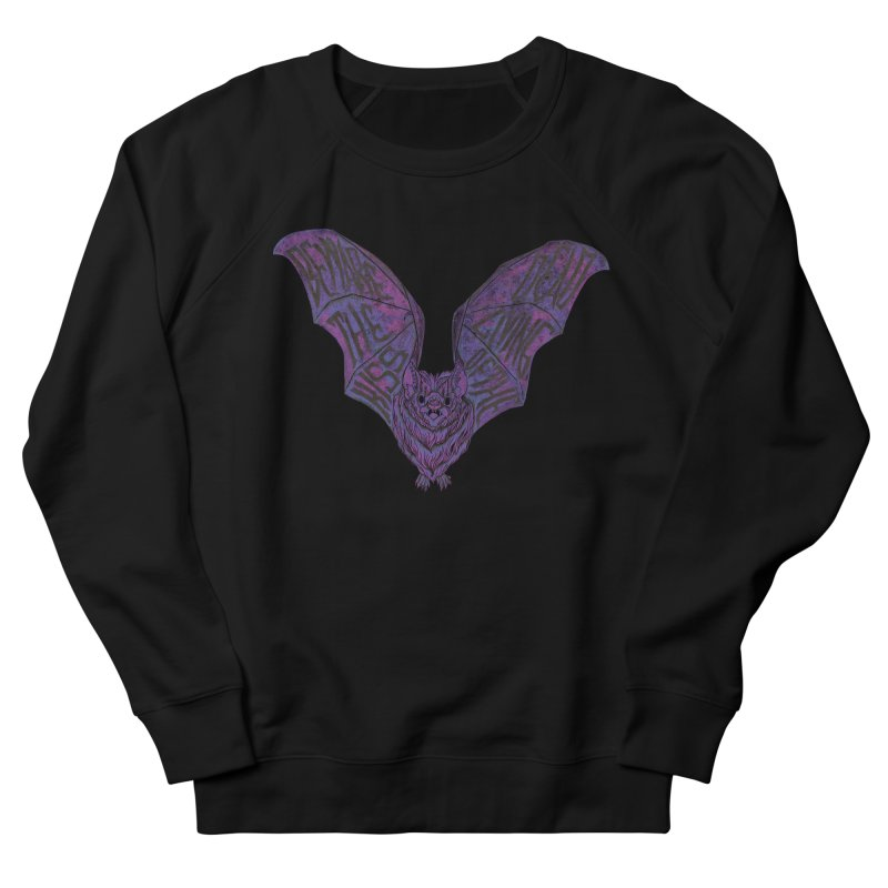 Beware the Kiss Women's French Terry Sweatshirt by HumAlong Productions