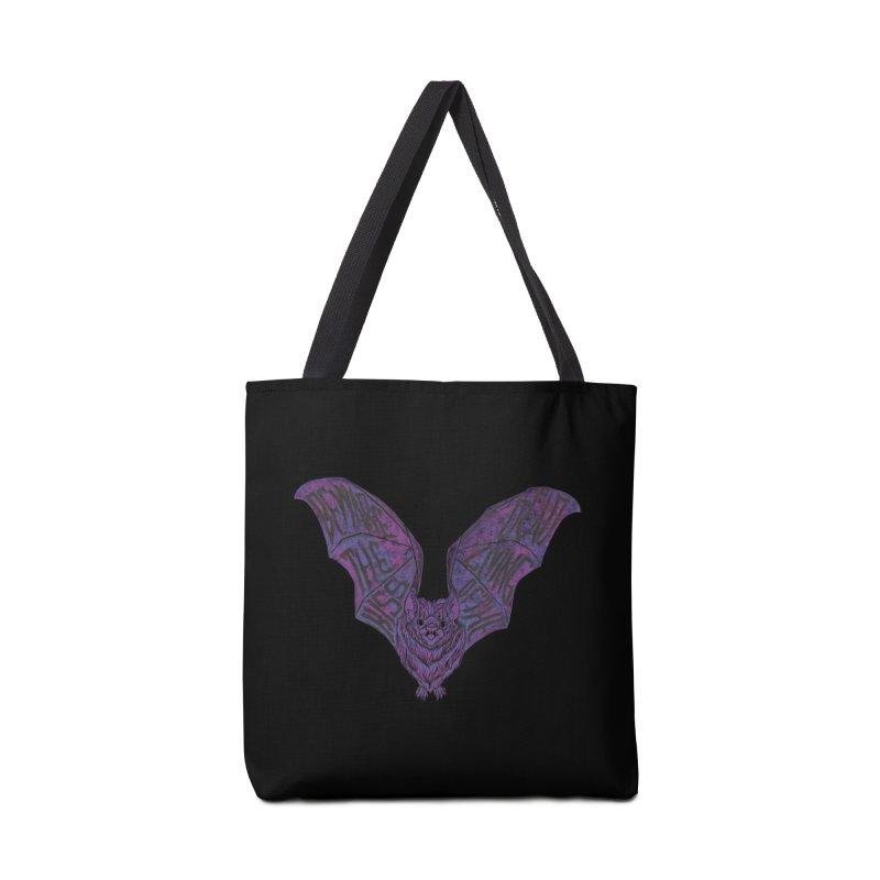 Beware the Kiss Accessories Tote Bag Bag by HumAlong Productions