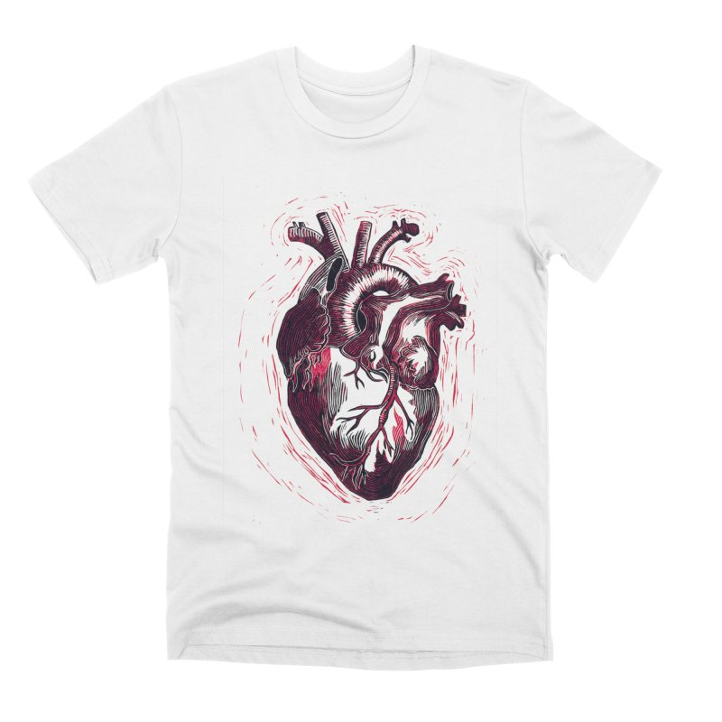Anatomical Heart Men's Premium T-Shirt by HumAlong Productions
