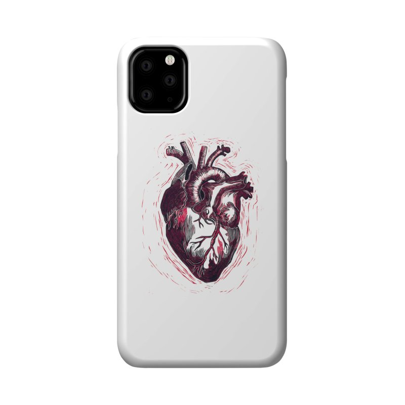 Anatomical Heart Accessories Phone Case by HumAlong Productions
