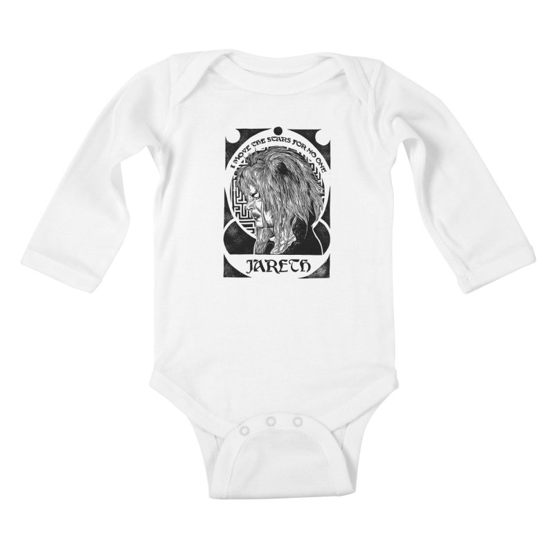 Goblin King Kids Baby Longsleeve Bodysuit by HumAlong Productions