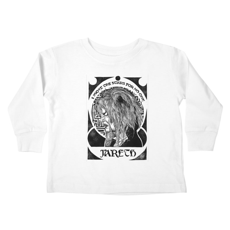 Goblin King Kids Toddler Longsleeve T-Shirt by HumAlong Productions