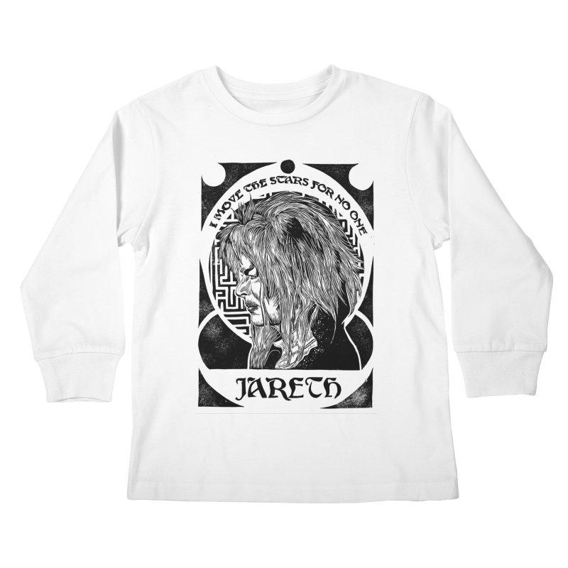 Goblin King Kids Longsleeve T-Shirt by HumAlong Productions