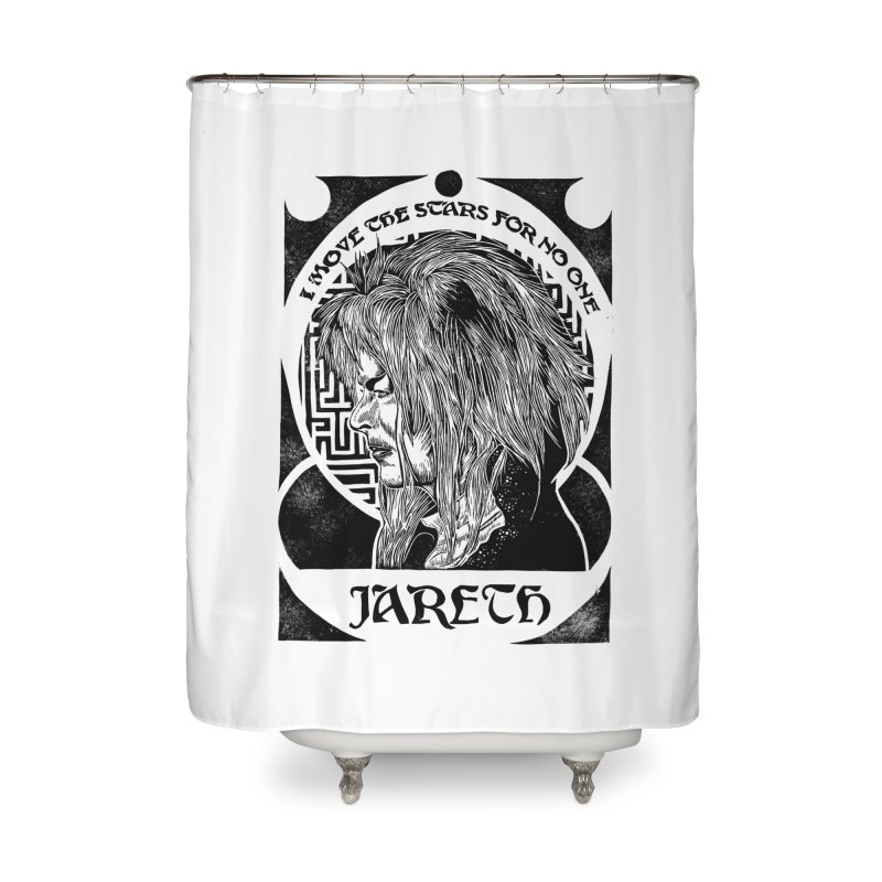 Goblin King Home Shower Curtain by HumAlong Productions