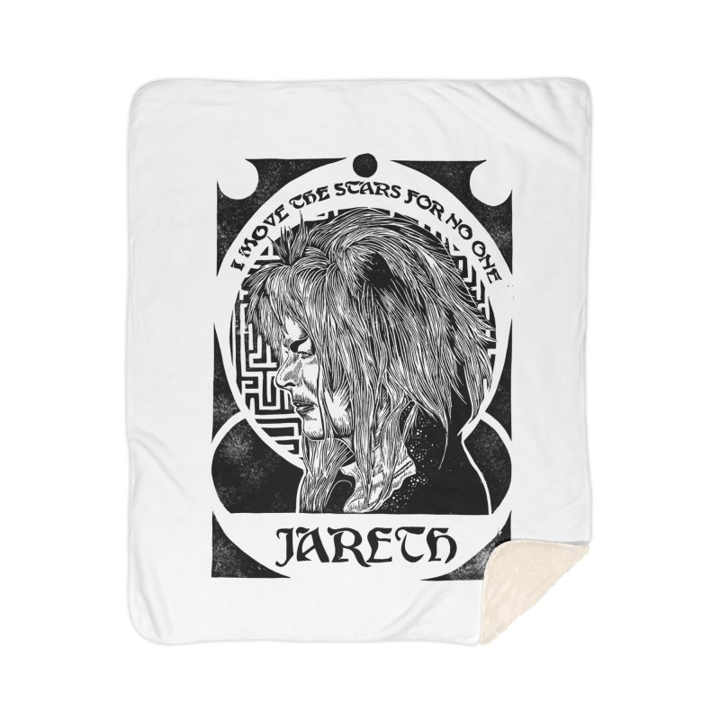 Goblin King Home Sherpa Blanket Blanket by HumAlong Productions