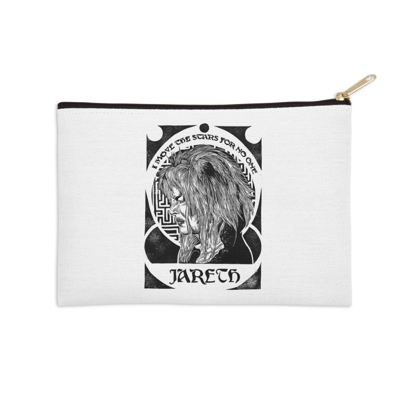 Goblin King Accessories Zip Pouch by HumAlong Productions