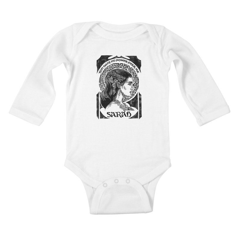 Sarah Kids Baby Longsleeve Bodysuit by HumAlong Productions