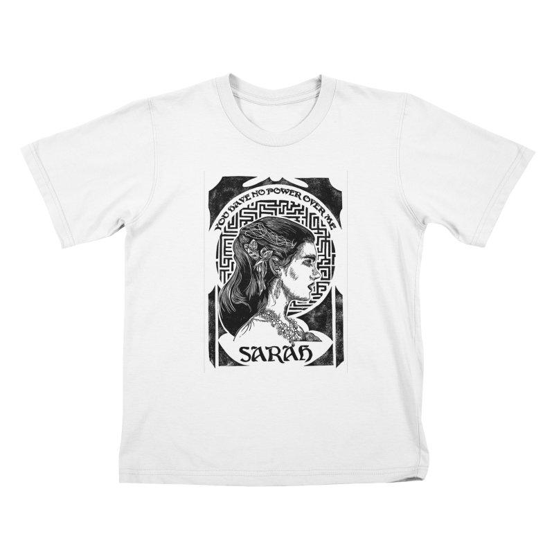 Sarah Kids T-Shirt by HumAlong Productions