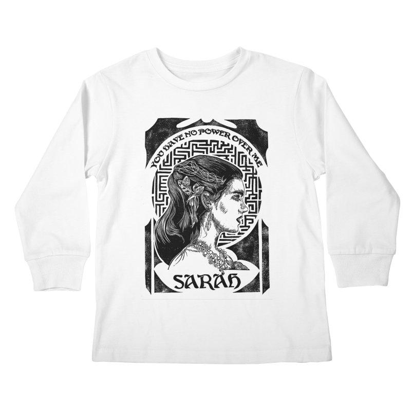 Sarah Kids Longsleeve T-Shirt by HumAlong Productions