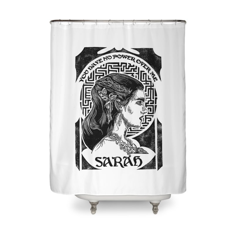 Sarah Home Shower Curtain by HumAlong Productions