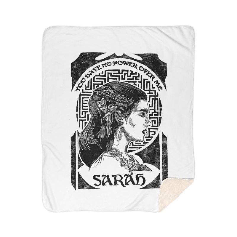 Sarah Home Sherpa Blanket Blanket by HumAlong Productions