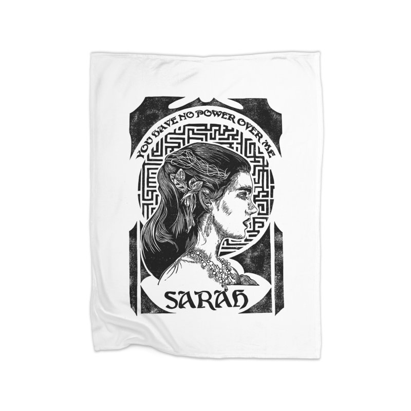Sarah Home Fleece Blanket Blanket by HumAlong Productions
