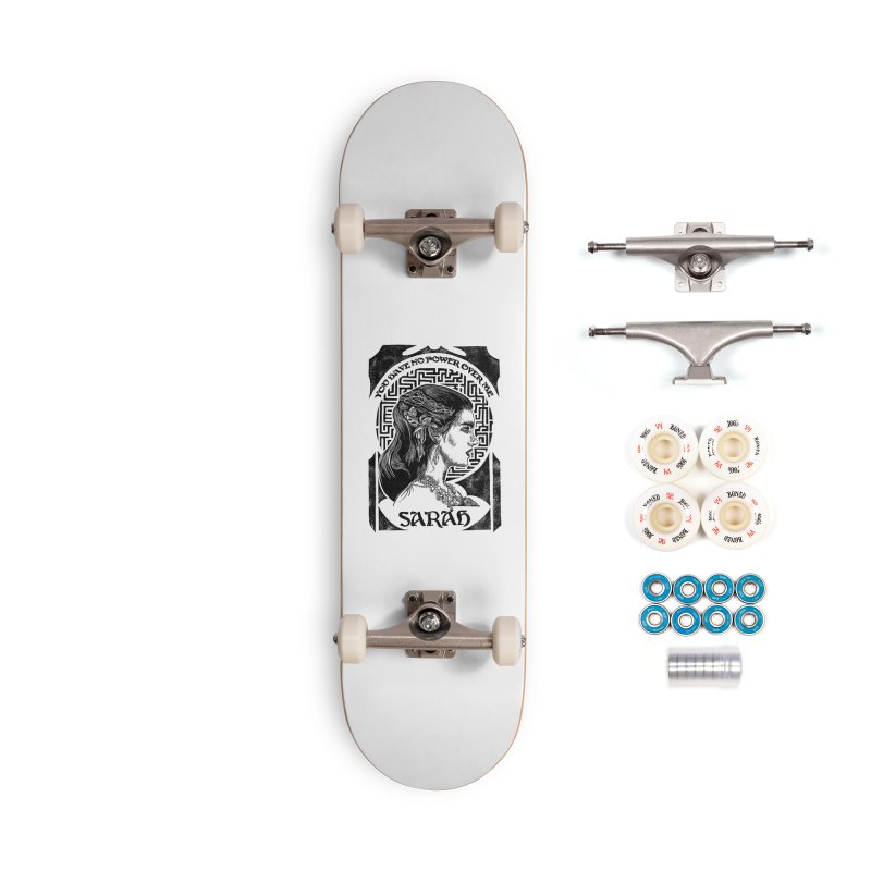 Sarah Accessories Complete - Premium Skateboard by HumAlong Productions