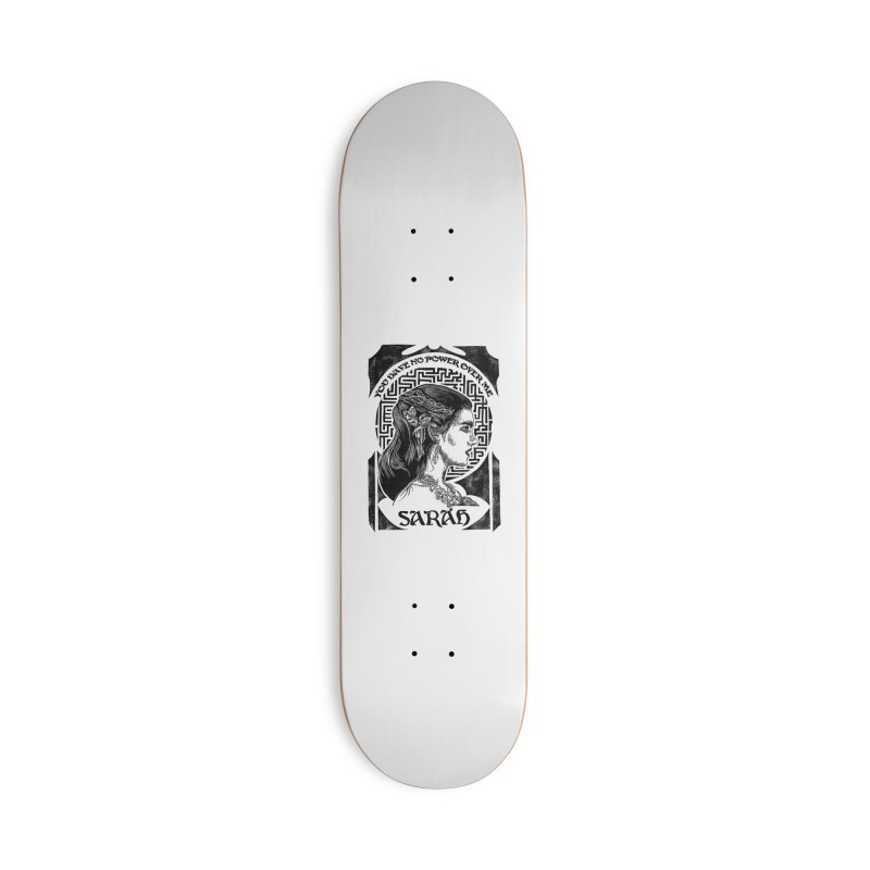 Sarah Accessories Deck Only Skateboard by HumAlong Productions