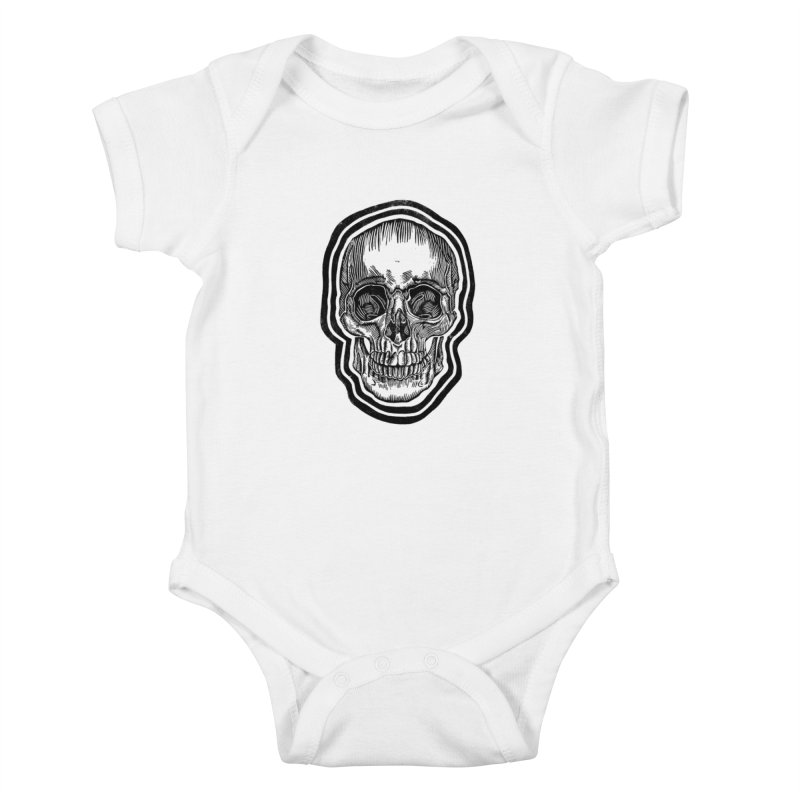Bad Vibes Kids Baby Bodysuit by HumAlong Productions