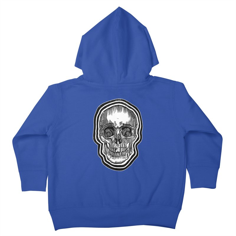 Bad Vibes Kids Toddler Zip-Up Hoody by HumAlong Productions