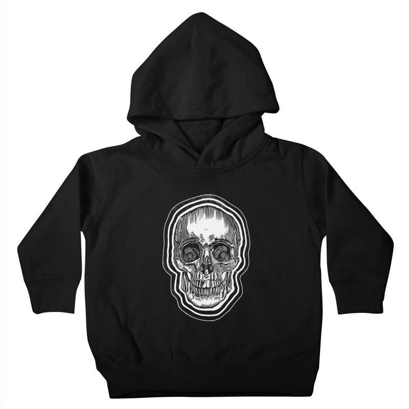 Bad Vibes Kids Toddler Pullover Hoody by HumAlong Productions