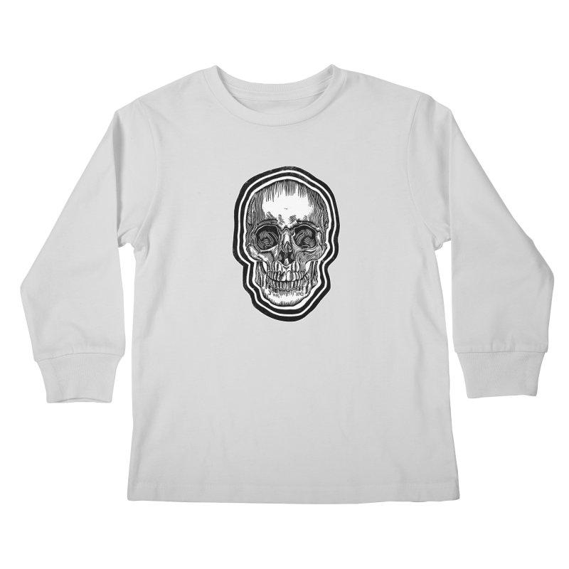 Bad Vibes Kids Longsleeve T-Shirt by HumAlong Productions