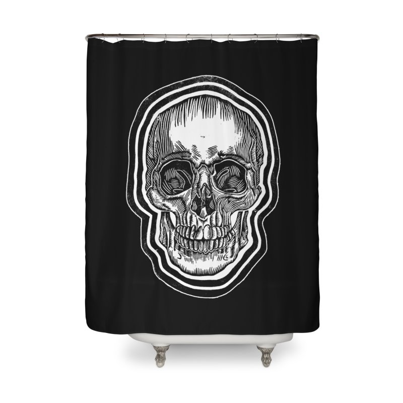 Bad Vibes Home Shower Curtain by HumAlong Productions