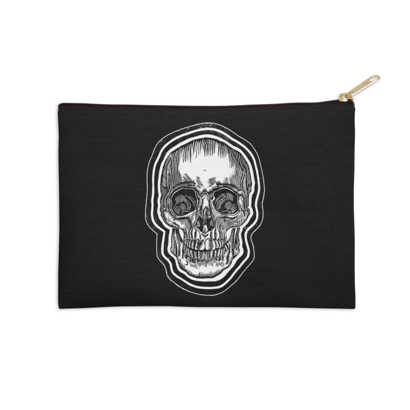 Bad Vibes Accessories Zip Pouch by HumAlong Productions