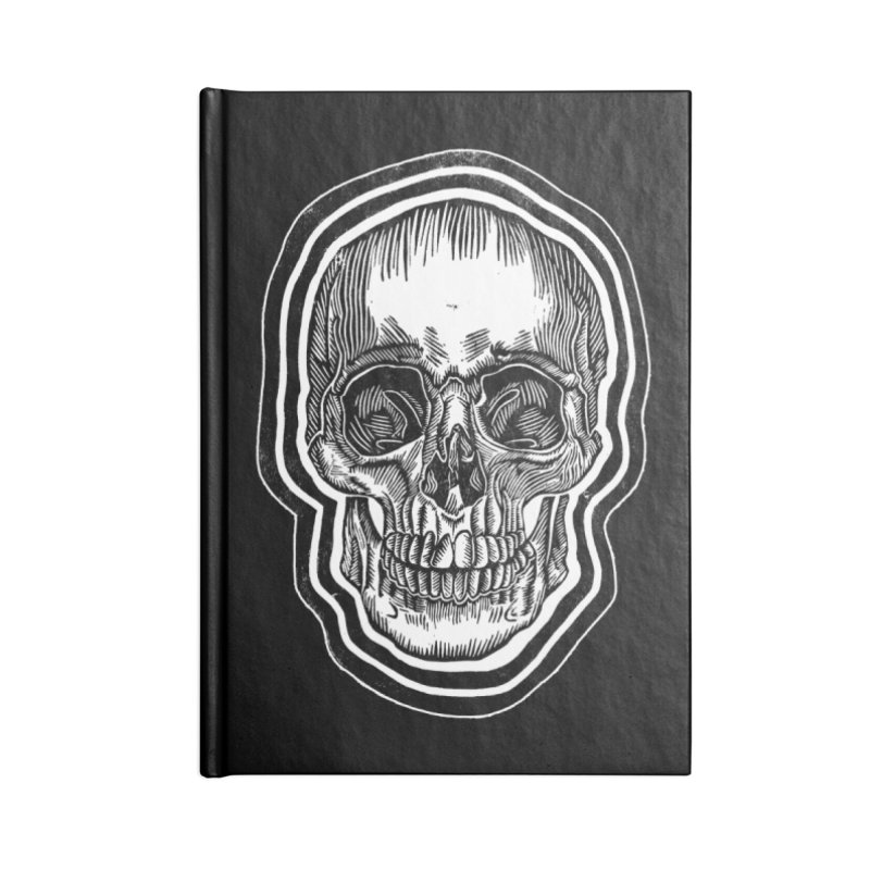 Bad Vibes Accessories Blank Journal Notebook by HumAlong Productions