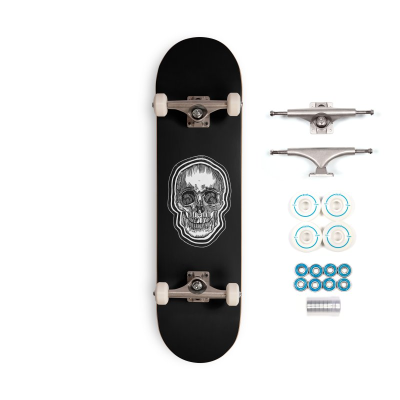 Bad Vibes Accessories Complete - Basic Skateboard by HumAlong Productions