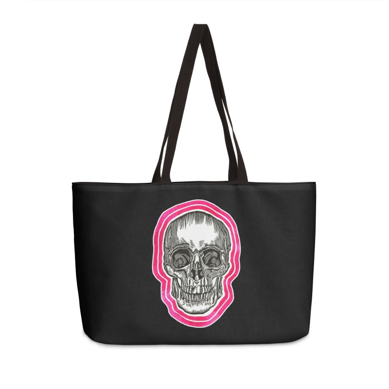Good Vibes Accessories Weekender Bag Bag by HumAlong Productions