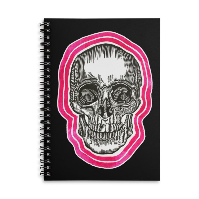Good Vibes Accessories Lined Spiral Notebook by HumAlong Productions