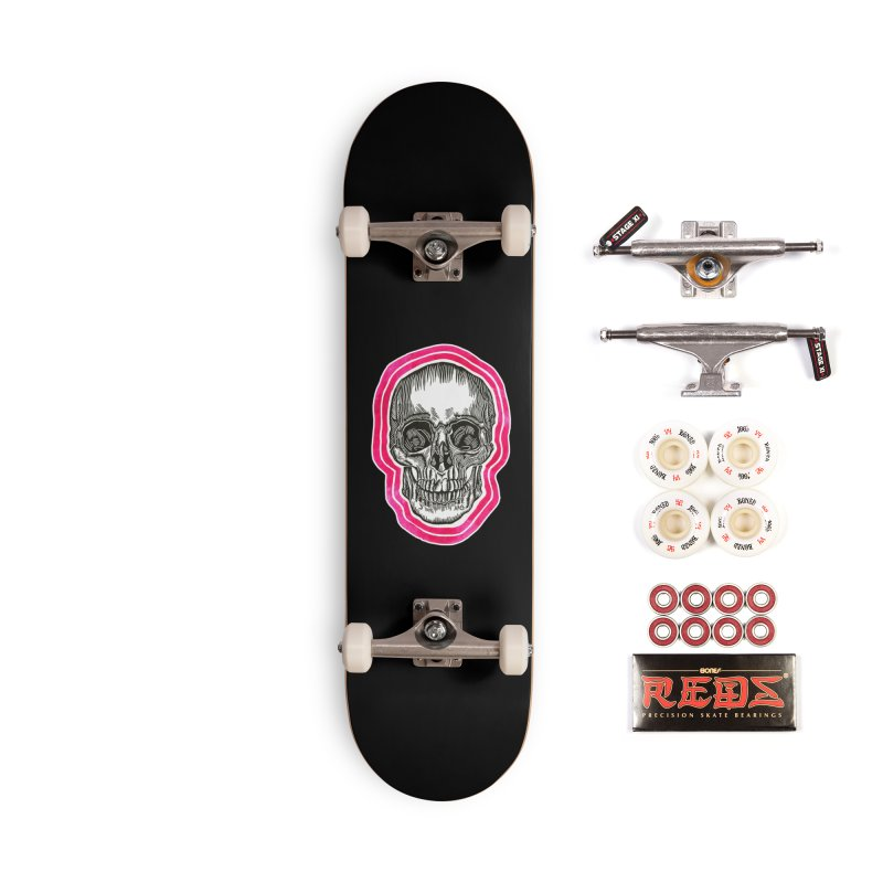 Good Vibes Accessories Complete - Pro Skateboard by HumAlong Productions