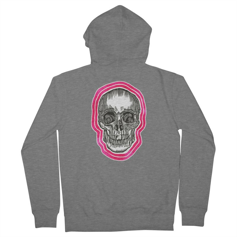 Good Vibes Men's French Terry Zip-Up Hoody by HumAlong Productions