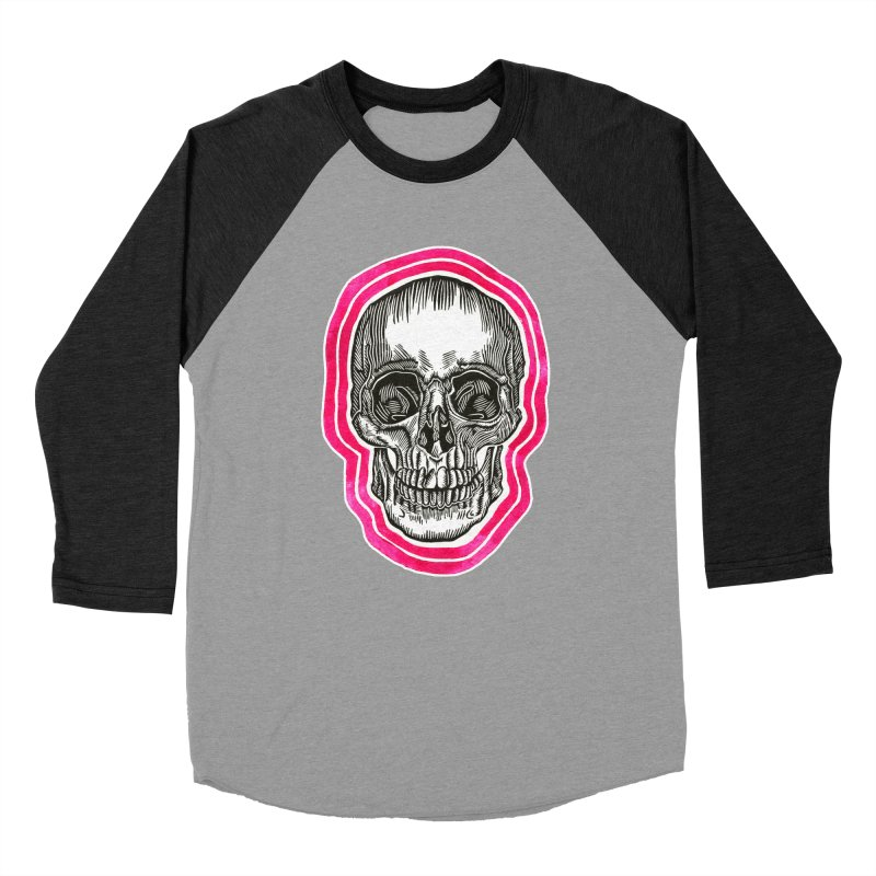 Good Vibes Men's Baseball Triblend Longsleeve T-Shirt by HumAlong Productions