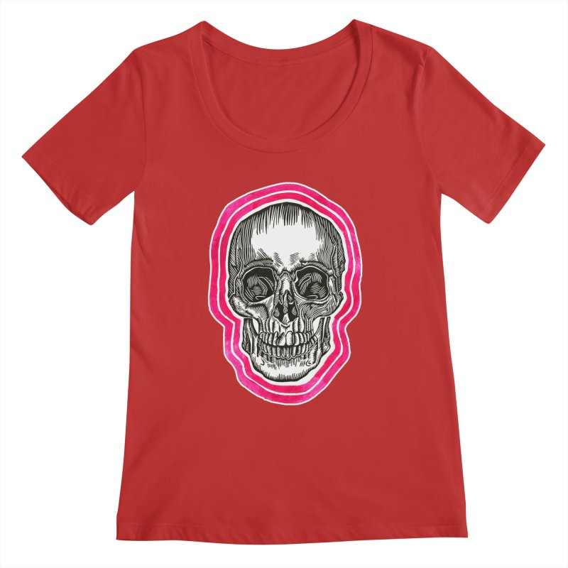 Good Vibes Women's Regular Scoop Neck by HumAlong Productions
