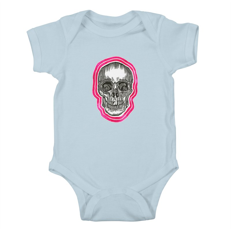 Good Vibes Kids Baby Bodysuit by HumAlong Productions