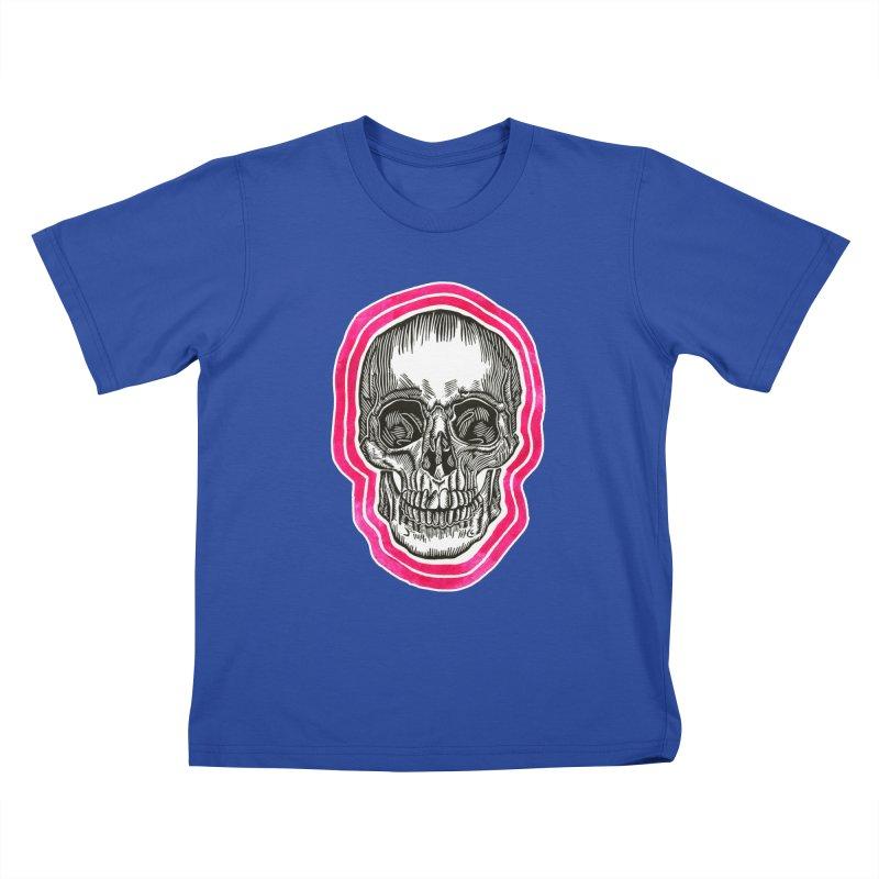 Good Vibes Kids T-Shirt by HumAlong Productions