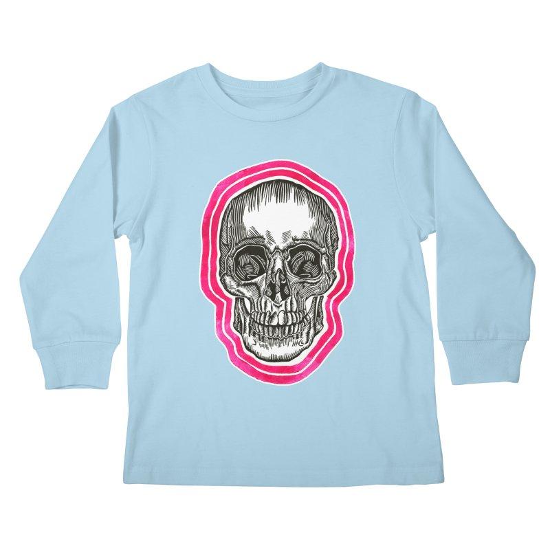 Good Vibes Kids Longsleeve T-Shirt by HumAlong Productions