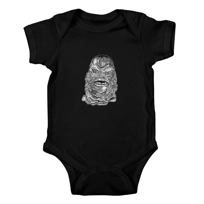 Creature Kids Baby Bodysuit by HumAlong Productions