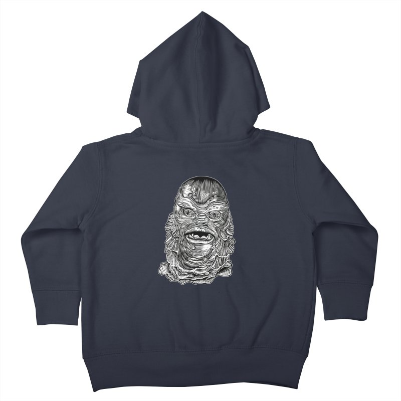 Creature Kids Toddler Zip-Up Hoody by HumAlong Productions