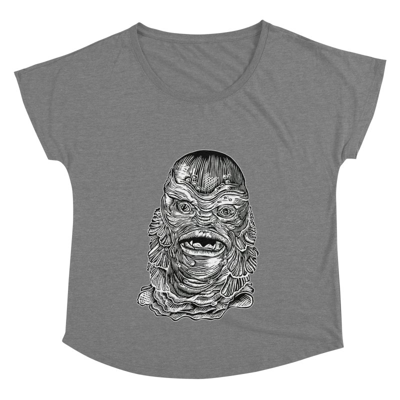 Creature Women's Scoop Neck by HumAlong Productions