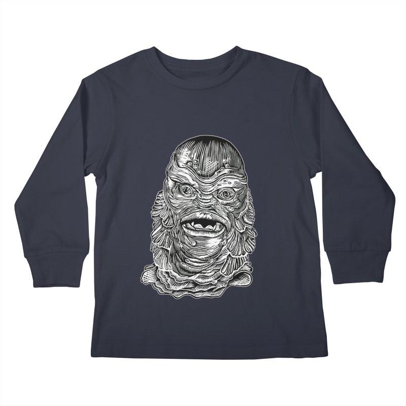 Creature Kids Longsleeve T-Shirt by HumAlong Productions