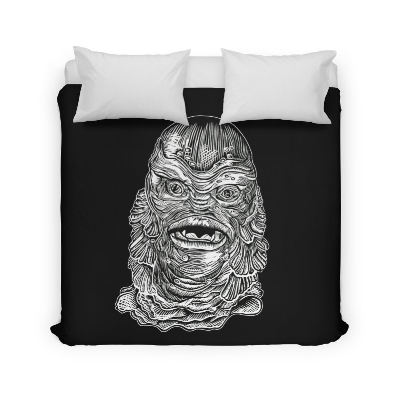 Creature Home Duvet by HumAlong Productions