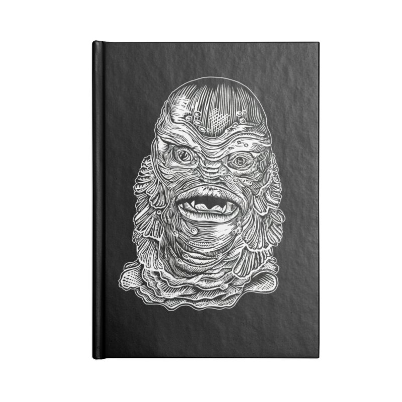 Creature Accessories Lined Journal Notebook by HumAlong Productions