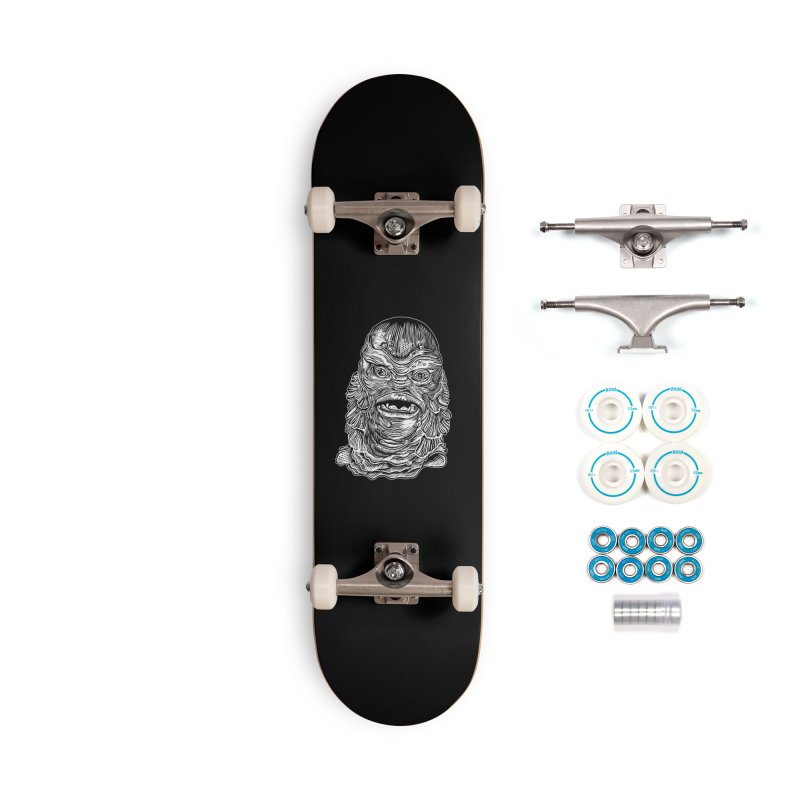 Creature Accessories Complete - Basic Skateboard by HumAlong Productions