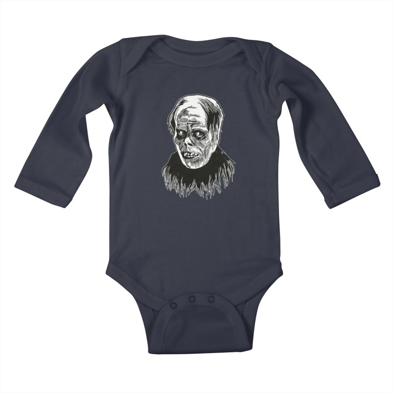 Erik Kids Baby Longsleeve Bodysuit by HumAlong Productions