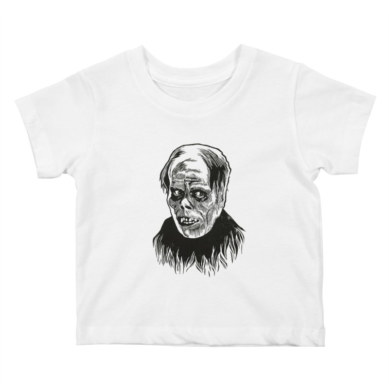 Erik Kids Baby T-Shirt by HumAlong Productions