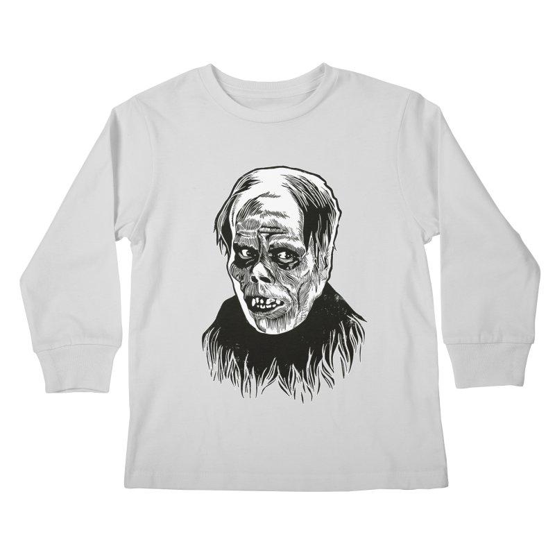 Erik Kids Longsleeve T-Shirt by HumAlong Productions