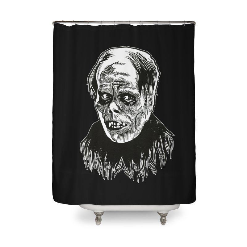 Erik Home Shower Curtain by HumAlong Productions